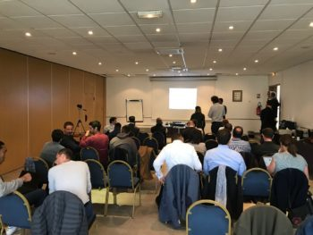 Printed Electronics Workshop: great success for GenesInk Cap'Tronic!