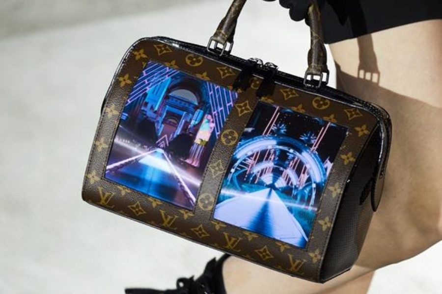 Louis Vuitton goes bold with flexible displays on handbag