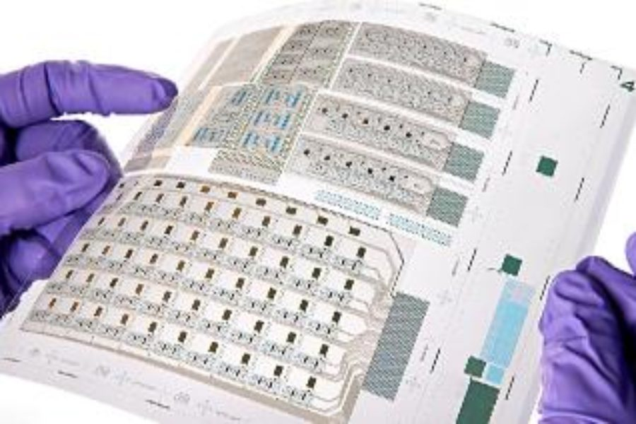 Printed transistors scale up to system prototypes