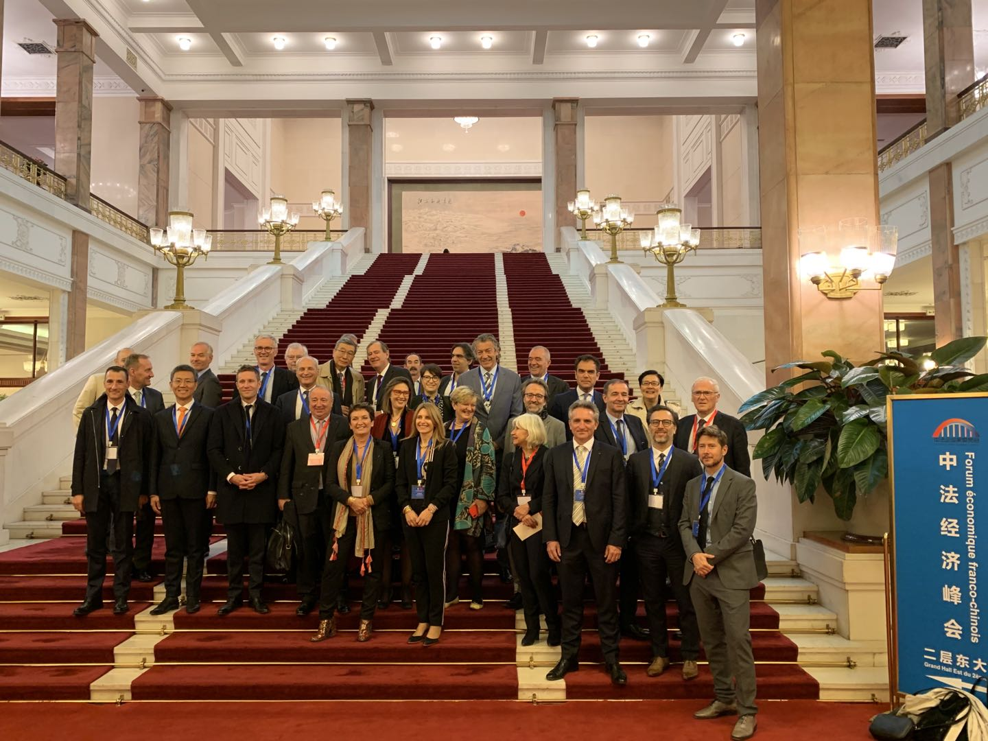 Corinne Versini, GenesInk CEO, successfully participated to French President Emmanuel Macron trip to China with the Forum  Economique Franco Chinois
